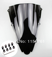 FREE SHIPPING New Black Windscreen Windshield For Yamaha YZF R1 2000 2001