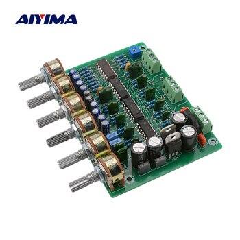 AIYIMA HIFI entusiasta preamplificador Placa de Control de tonos de dos canales estéreo tono volumen EQ Control preamplificador