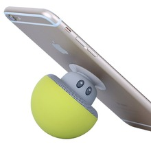 Mushroom head Bluetooth audio wireless portable desktop super cute phone support mini speaker