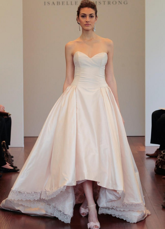 Тафта на свадебное платье
