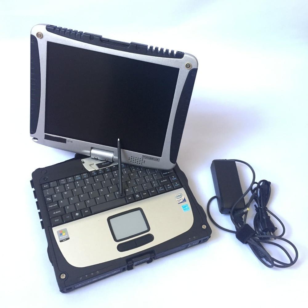 Ordinateur portable CF19 CF-19 de marque p-anultrasons CF 19 livre dur avec 320 gb HDD Anti-Corrosion 4 gb PC Windows 7 ordinateur (vente en gros/au détail)