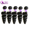 Brazilian Loose Wave Virgin Hair 5 Bundles Brazilian Virgin Hair Loose Wave Human Hair Bundles 7A Brazilian Hair Weave Bundles