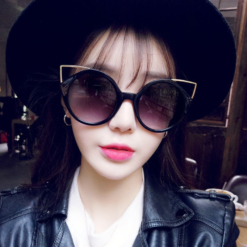 Women's Glasses Devoted New Fashion Vintage Sunglasses Woman Semi-endless Retro Sunglasses Female Round Oculos De Sol Gafas Mujer W4 Aromatic Character And Agreeable Taste