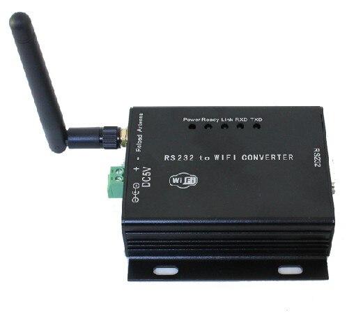 Port série, RS232, WIFI, transmission transparente, serveur série WIFI