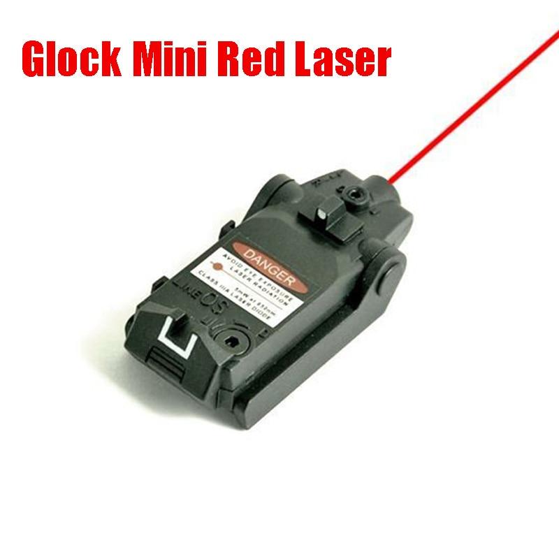 Tactical Glock Pistol Red Laser Mini Red Dot Laser For Glock 17 18C 19 22 23 25 26 27 28 31 32 33 34 35 37 Series-0