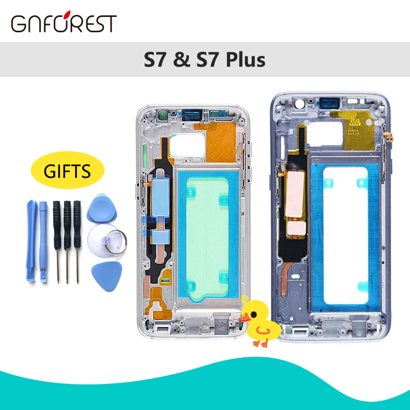 Chassis Middle-Plate-Frame-Housing G930F All-Small-Parts Galaxy Samsung for S7 G930f/S7/Edge-g935f