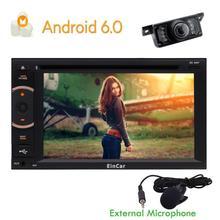 4 ядра 2Din Android 6.0 Автомобильный GPS 1080 P радио рекордер навигации Captiva dvd-плеер 2din Руль заднего вида Камера WI-FI
