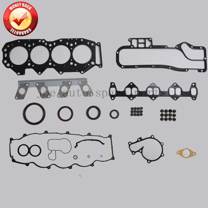 WL WLT Engine complete Full Gasket Set kit for Ford Endeavour/Ranger Mazda B2500 2.5D 2.5TD 2499CC 1999- 8ASX-10-271 50163000 overhaul gasket kit engine for fit mazda cx7 rx8 l5 mazda 3 5 6 2 5l mzr l5 16v l4 8lge 10 271 8ll3 10 271 2007 2016
