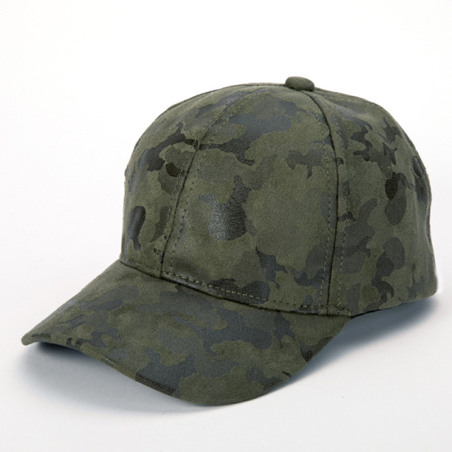 Outdoor Sports Camping Hunting Men s Camo Baseball Cap Snapback Hat Dark  Green de2d5a0be507