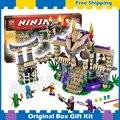 529 шт. БЕЛА Ninja 10324 Введите Змея Ллойд Джей Kapau'rai наборы Строительство Игрушки Совместимость с Lego