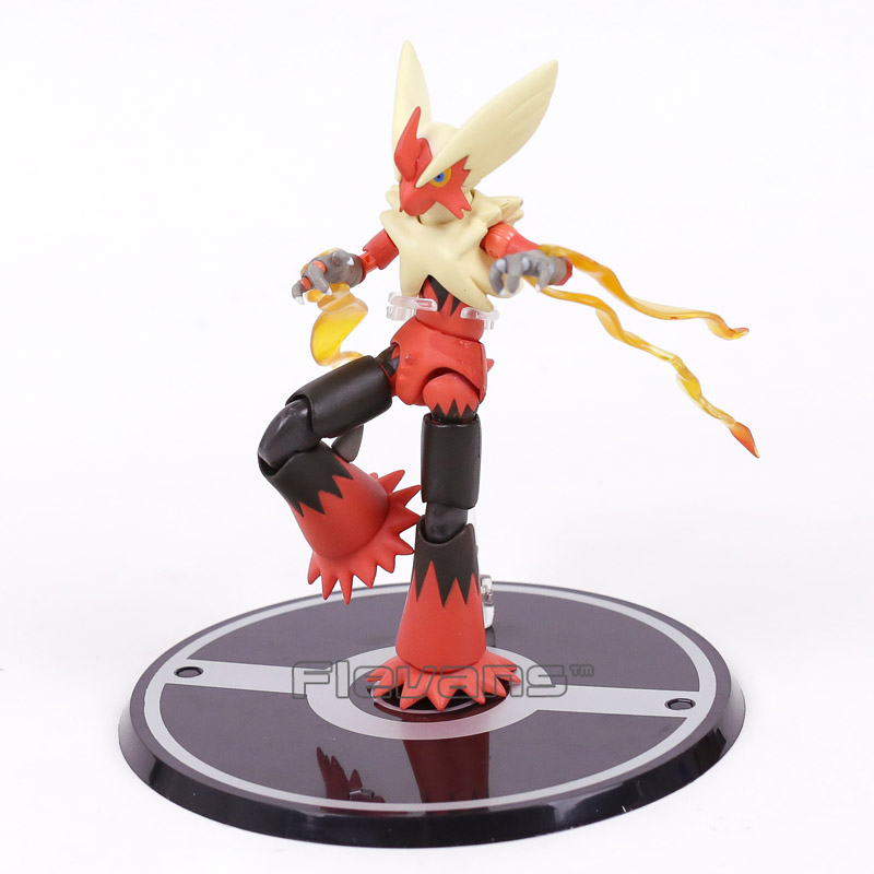 Anime Cartoon SHF SHFiguarts Blaziken PVC Action Figure Collectible Model Toy Brinquedos to love ru darkness action figure eve sexy swimsuit cartoon children gifts pvc action figure collectible model toy 23cm kt3201