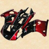 Motorcycle Red Black Plastic Fairing Bodywork Kit For YAMAHA FZR250 FZR 250 2KR 86 88 87 2A