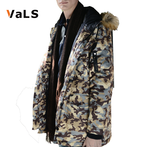 Brand Warm Men Parka Jackets : Fashion Outdoor Mens Winter Camouflage Coat Lovers - VaLS Apparel Monopoly store