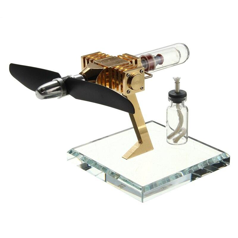 Tout nouveau moteur de générateur de puissance de moteur d'air d'avion innovant Stirling moteur Science jouets nouvelle Version enfants jouet éducatif