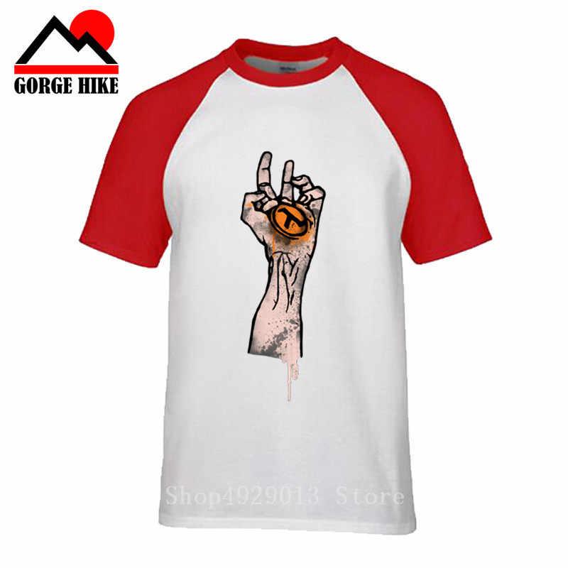 3D แม่มดมือตาเห็นทั้งหมด illuminati Cool Design ผู้ชายครึ่งชีวิต t เสื้อ 2019 ฤดูร้อนอะนิเมะเสื้อยืดเลือดปีศาจแขนเสื้อ