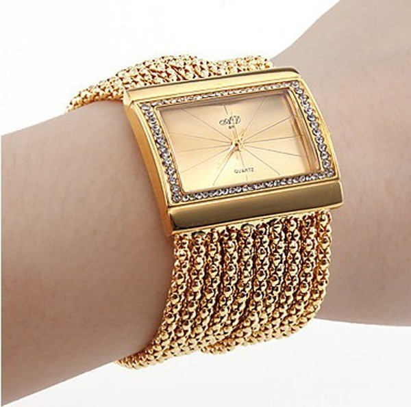 New women Lady Ladies Bracelet watch bangle watch wristwatch fashion quartz watches...