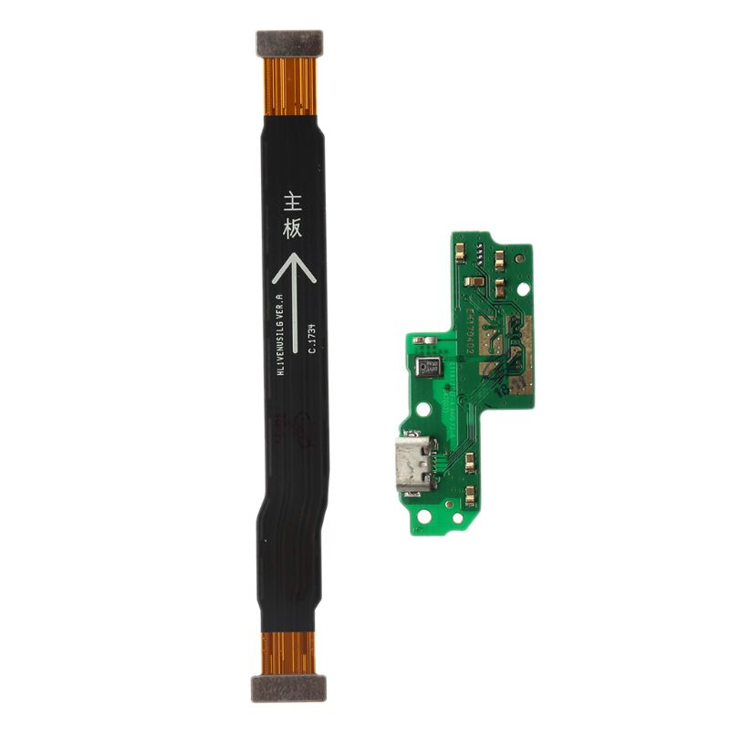 USB Charging Dock Port Mainboard Flex Cable Connector Microphone Mic Board Module Replacement Parts For Huawei G9 P9 Lite