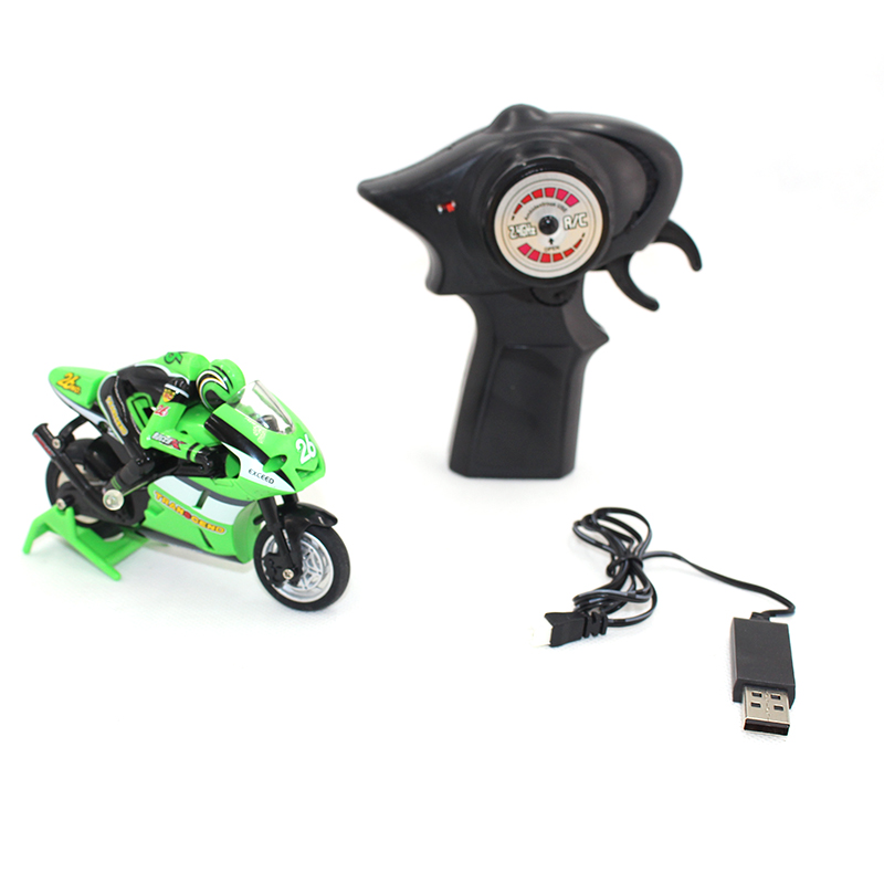 Image 4 - Kids Motorcycle Electric Remote Control Car mini motorcycle 2.4Ghz Racing Motorbike Boy 8 15 toys for children-in RC Motorcycles from Toys & Hobbies