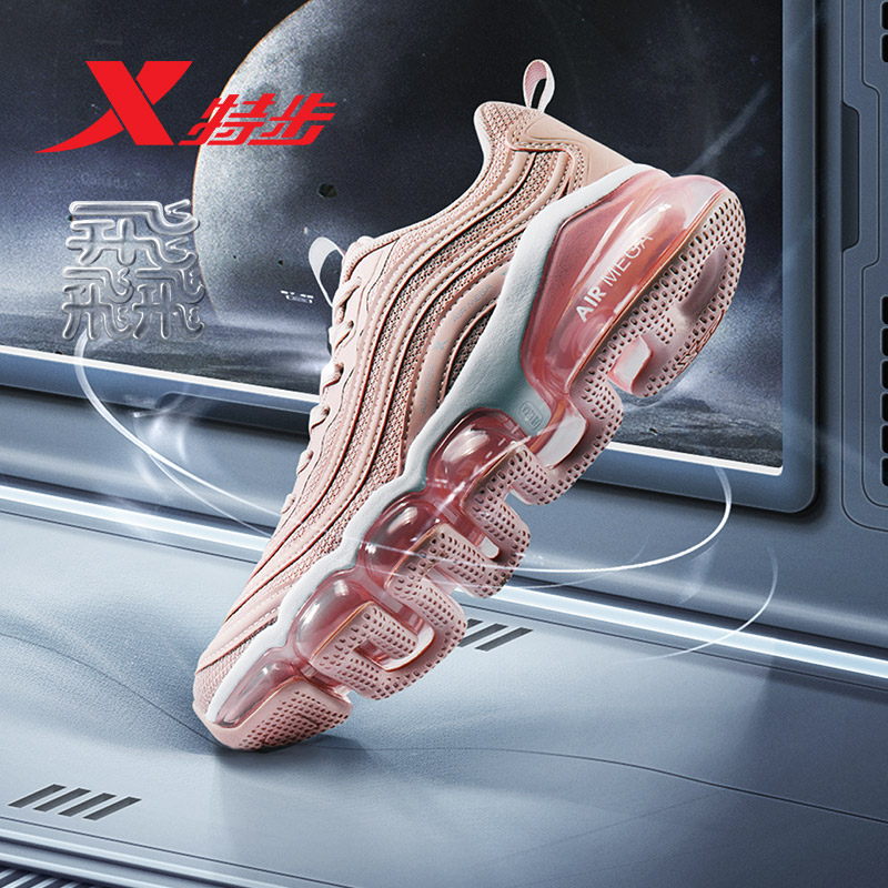 881218119562 MEGA Mulheres xtep tênis De corrida do Ar AR 2019 tecido respirável almofada de ar tênis de corrida esporte mulheres seakers