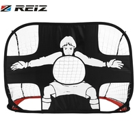 Foldable Football Gate Net Goal Gate Extra Sturdy Portable Soccer Ball Practice Gate Kids Children Students Soccer Training