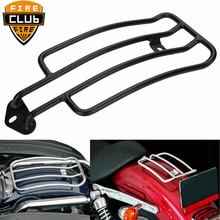 Мотоцикл 18 см 28 см Сисси Бар багажная стойка Поддержка Полка рамка для Harley Sportster Железный XL883 XL1200 X48 на заказ Roadster