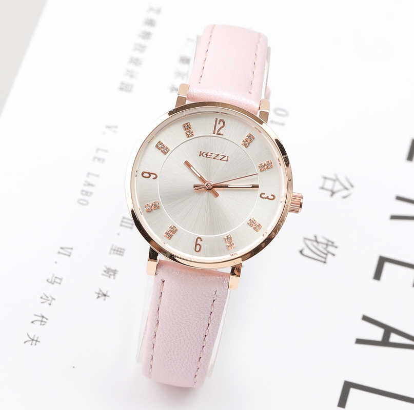 New Women Watches Brand Quartz Ladies Watch Women 2017 Leather Clock Waterproof Female Wristwatches Quartz Watch