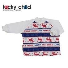 Кофточка Lucky Child с начёсом или без для мальчиков и девочек, арт. 10-12f (Скандинавия) [сделано в России, доставка от 2-х дней]
