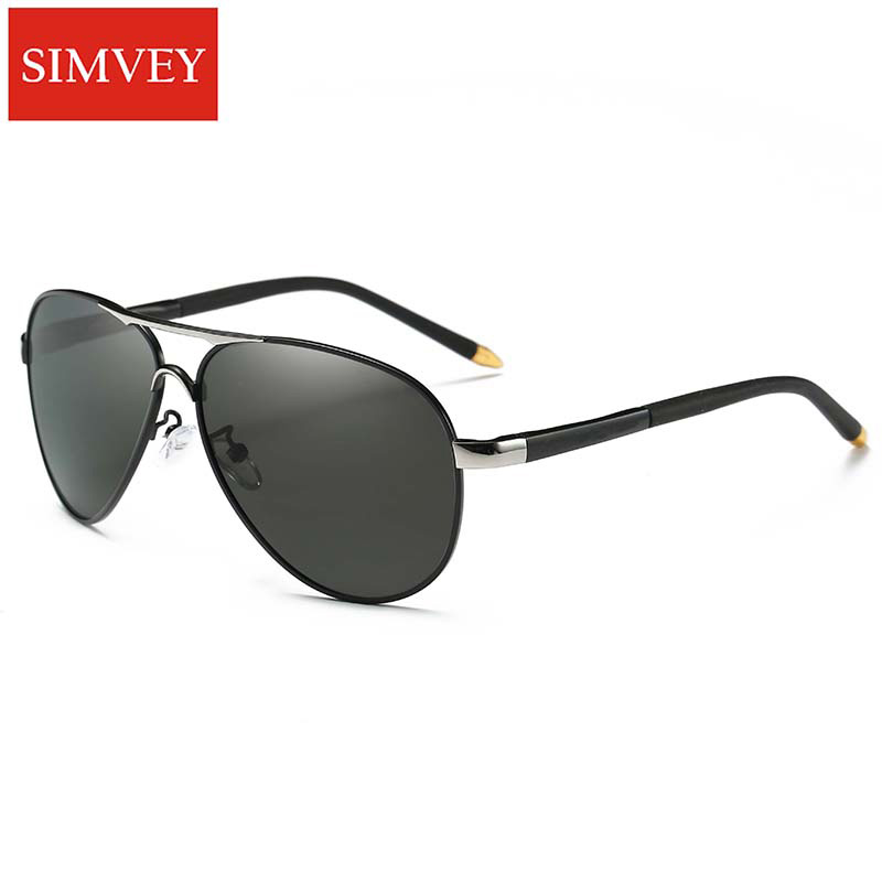 Simvey Fashion Classic Men Aviation Gafas de sol Luxury Brand Design - Accesorios para la ropa - foto 1