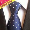 Fábrica Vendedor Atacado Lote 5 Peças 8 cm Clássico dos homens Laços Gravata cravatta Elegante Aniversário de Casamento/NEGÓCIO/Festa DA ESCOLA
