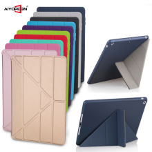 Get more info on the 4 Shapes Stand Design Magnetic Leather Case for ipad 6 Smart Cover for Ipad air 2 Slim Fashion