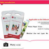 Seracase 60 pezzi di carta carta fotografica Zink PS2203 Smart Mobile per LG Stampante Fotografica PD221/PD251 PD233 PD239 Stampa di carta