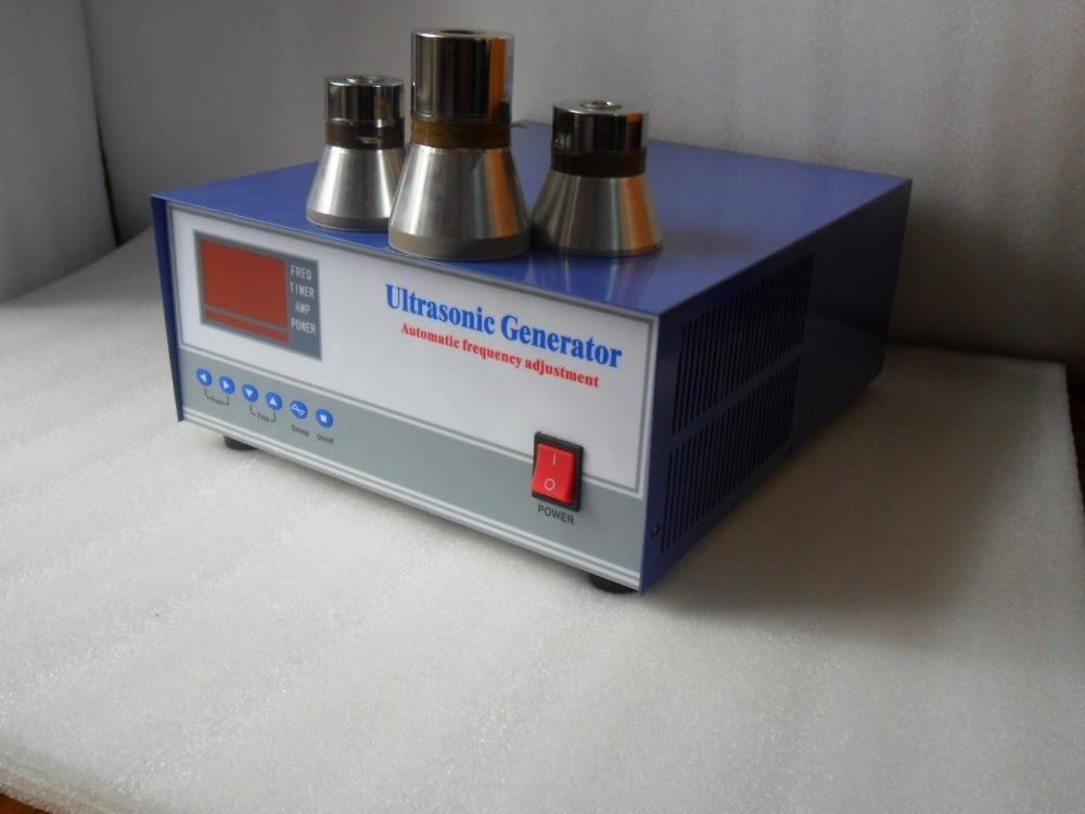 33khz/135khz 600W dual frequency ultrasonic generator,33khz/135khz ultrasonic Piezoelectric Generator