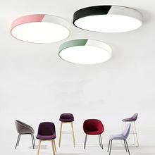 Creative color LED ceiling light living room lighting fixture bedroom kitchen surface installation