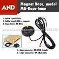Бесплатная доставка Антенна Магнит База с SMA разъем gsm антенна 3 г магнитный стенд