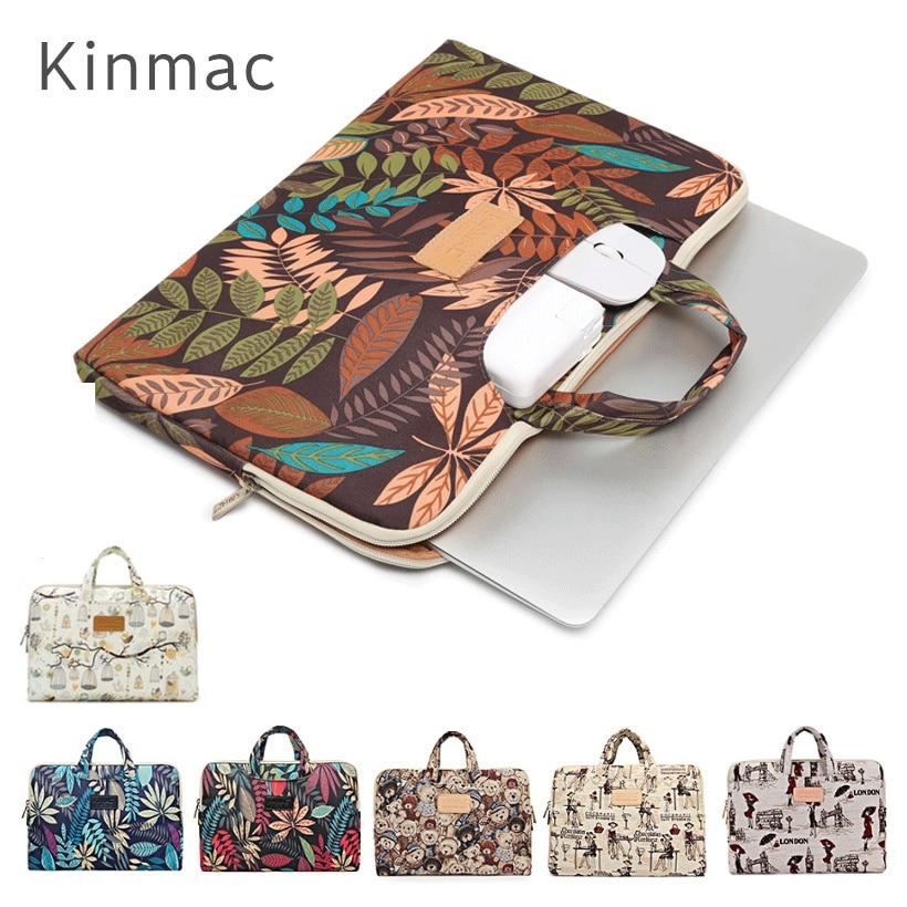 2018 Brand Kinmac Handbag Bag For Laptop 13,14,15,15.4 15.6 inch,Sleeve Case For MacBook Air Pro 13.3,Free Drop Shipping