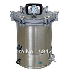 18L PORTABLE Pressure Steam AUTOCLAVE (Wing Nuts)