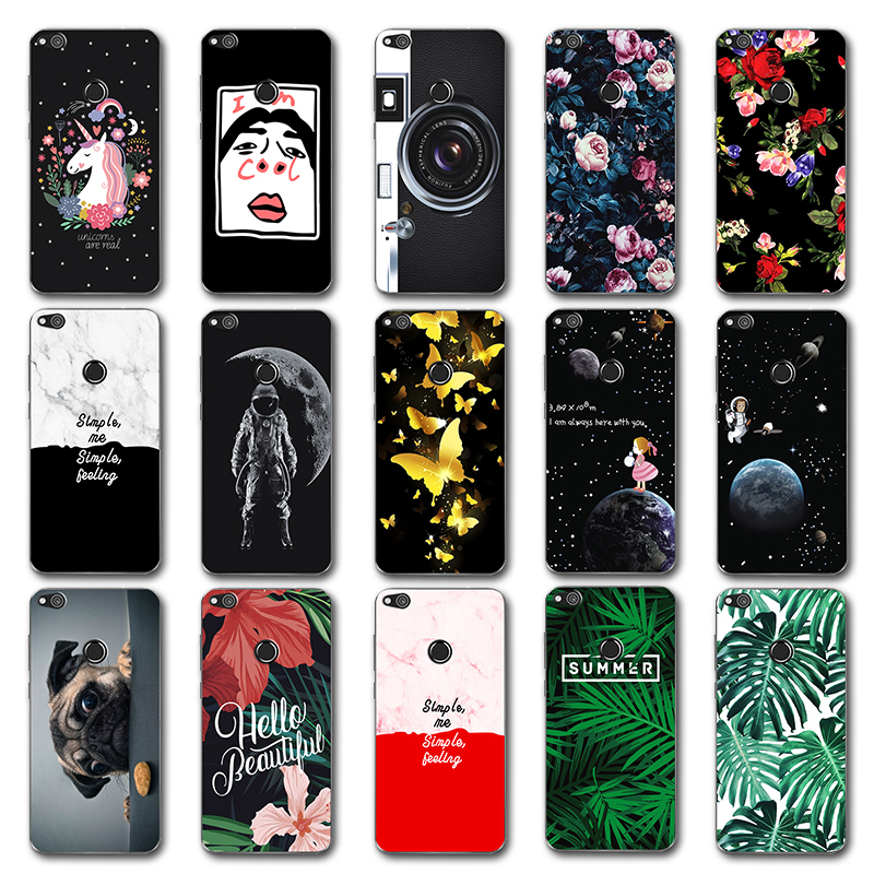 ٩(^‿^)۶Newest Fashion Lovers Case Leaves For Huawei P9 Lite 2017 ...