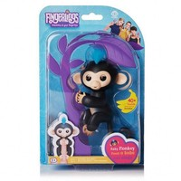 Wholesale Fingerlings Baby Monkey 3PCS Lots Interactive Baby Monkey Ring Baby Fingerlings Pet Electronic Monkey Ring