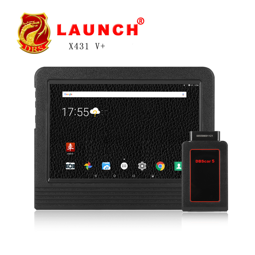 [Authorized Dearler] Newest 100% original Launch X431 V+ Wifi Global Version Full System Scanner update to 2GB Memory Android7.1
