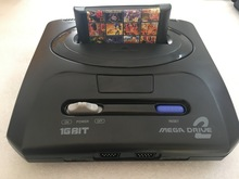 16 бит S-E-G-A MD 2 игровая консоль для оригинальной S-E-G-A игровой Картридж с 138 в 1 классические игры