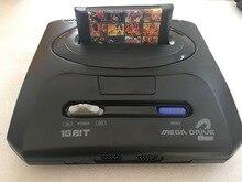 16 бит SEGA MD 2 игровая консоль для оригинальной игры SEGA с 138 в 1 классические игры