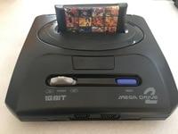 16 bit SEGA MD 2 Video Game console for Original SEGA game cartridge with 138 in 1 classic games