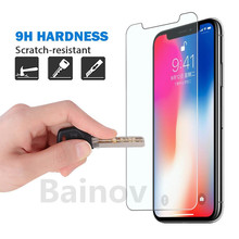 9H Ultra-thin tempered glass for iPhone 8 7 6 6S Plus screen protector protective glass film for iphone x 5 5s se 4 4s