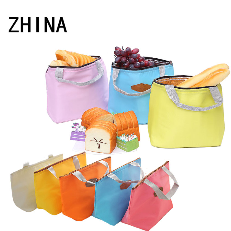 Kid Women Men Thermal Waterproof Portable Picnic Food Storage lunch box bag for kids insulated lunch bag