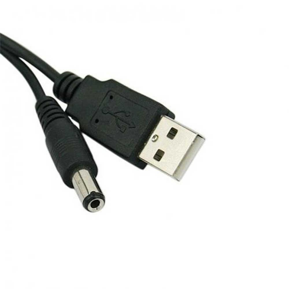 Lunghezza 100cm migliore porta USB nera 5V 5.5*2.1mm connettore cavo di alimentazione a barilotto cc per piccoli dispositivi elettronici cavo di prolunga usb