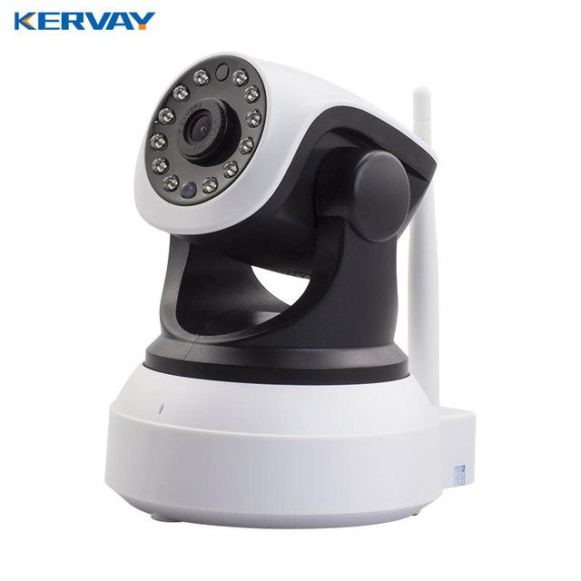 Kervay IP Camera 720 P HD Sem Fio Wi-fi Câmera de Segurança Night Vision Indoor Vigilância CCTV Câmera De Rede Wi-fi