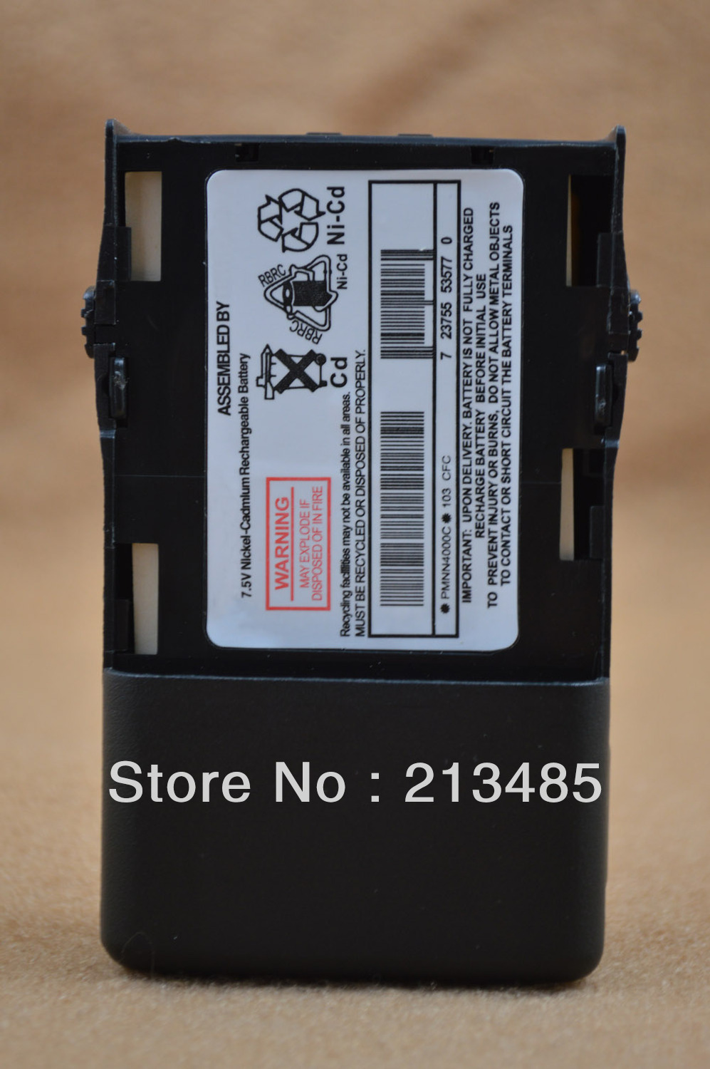 PMNN4000C DC7.5V 1100mAh Ni-Cd Battery For Motorola GP68 GP63 GP688
