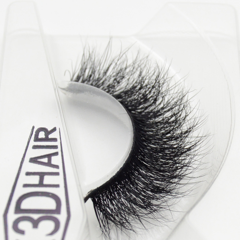 Visofree 3D Mink Eyelashes Upper Lashes 100% Real Mink Strip Eyelashes Handmade Crossing Mink Eye Lashes Extension A09