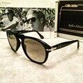 2017 Poder Yo 649 gafas de Sol 52mm 0PO0649 Persoling Ronda gafas de Sol de Los Hombres Con la Caja Original