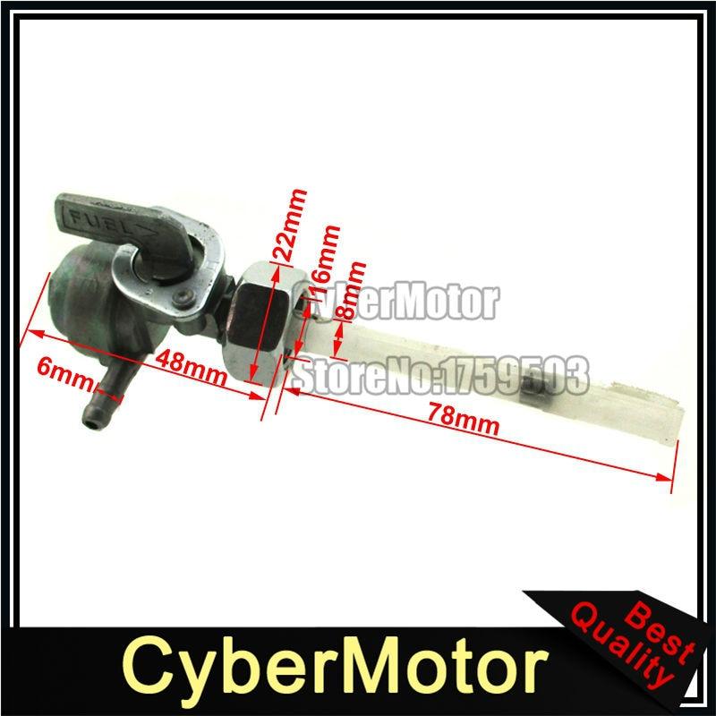 Gas Fuel Petcock Tap Valve Switch For CB900C CB750K CB550F CX500 CM400C NU50 XR200 CJ360T MR175 Honda Motorcycle Scooter Motor